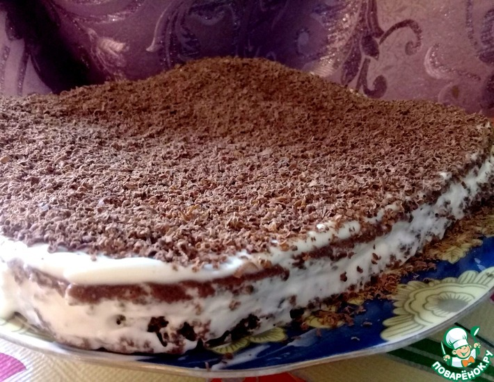 Рецепт: Быстрый торт на пахте
