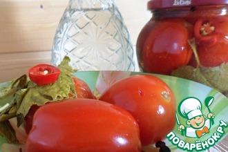 Рецепт: Маринованные помидоры Семейные традиции