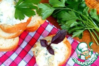 Рецепт: Рыба в с сметанно-сырном соусе
