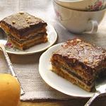 Абрикосово-шоколадный десерт