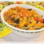 """Овощное рагу """"Аджапсандали"""" в мультиварке – кулинарный рецепт"""
