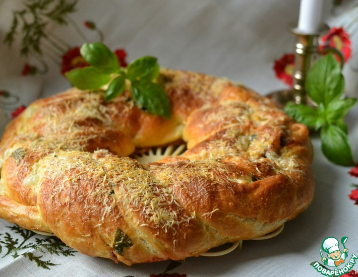 Рецепт: Хлебный венок