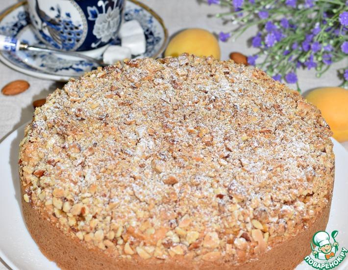 Рецепт: Пирог с абрикосами Дивный