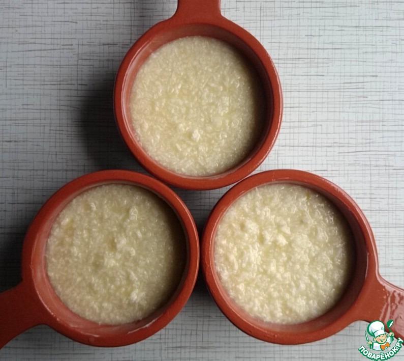 Португальский кокосовый крем