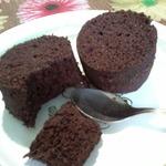 Быстрый шоколадный кекс в микроволновке
