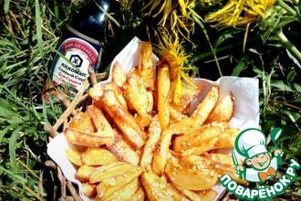 Рецепт: Картофель фри По-моему
