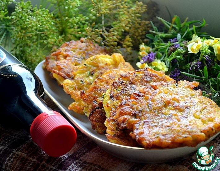 Рецепт: Овощные котлеты с сыром