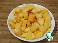Творожный тарт с персиками ингредиенты