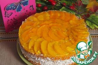 Рецепт: Персиковый торт