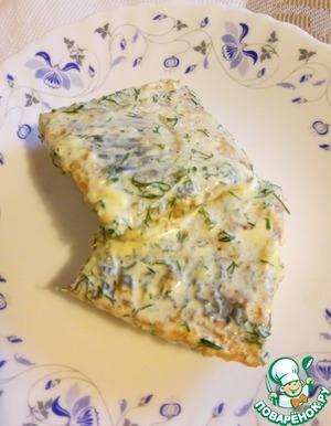 Наша наивкуснейшая рыбка готова! Можно подать с картофельным пюре или рисом. Приправить гарнир вкусным соусом.