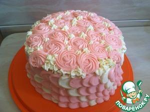 Decorate cake.