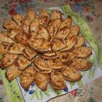Печенье с яблочно-миндальной начинкой
