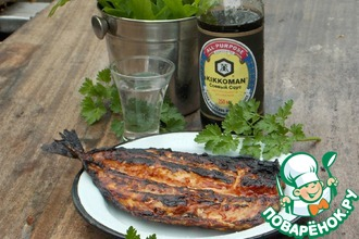 Рецепт: Скумбрия-гриль А-ля лосось