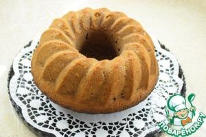 Вытаскиваем кекс из формы (через 15-20 минут), даем полностью остыть и, по желанию, посыпаем сахарной пудрой.