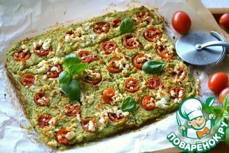 Рецепт: Пицца диетическая без теста