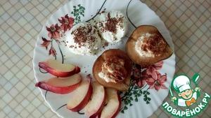 По готовности - выложите груши на тарелку, украсьте шариком мороженного и тертым шоколадом   Бон Аппетит!