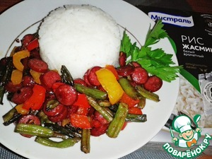 A delicious and hearty lunch is ready! Bon appetit!