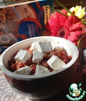 Serve hot. When serving, sprinkle the diced feta. Bon appetit!