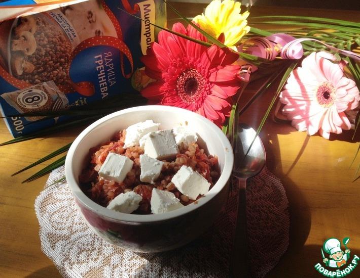 Рецепт: Гречка с корнеплодами и фетой
