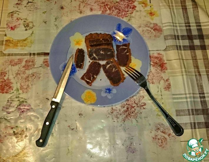 Рецепт: Бастурма из говяжьей вырезки