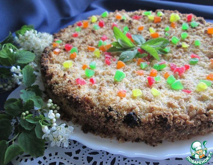 Рецепт: Орехово-финиковый пирог