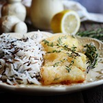 Рис с хрустящей рыбой