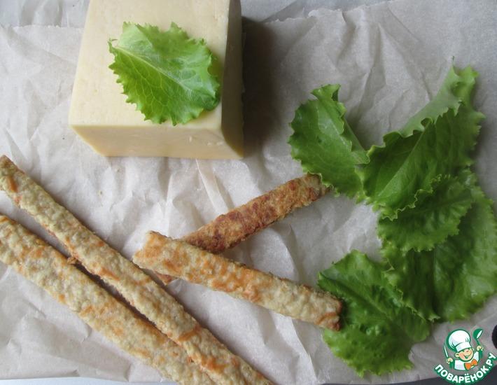 Рецепт: Овсяные палочки с сыром