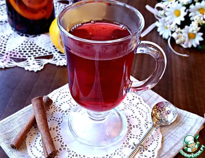 Рецепт: Фруктовый чай с пряностями Волшебный