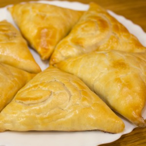 7. Samosa is ready! All a pleasant appetite!