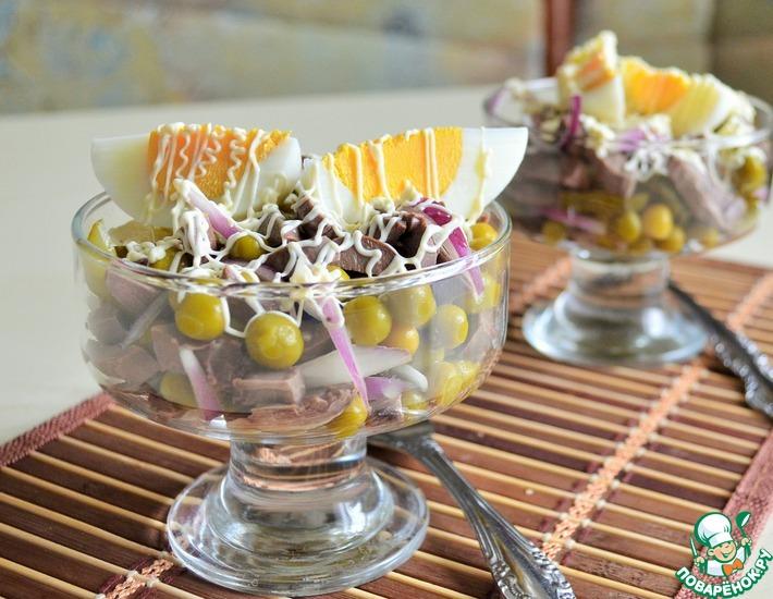 Рецепт: Салат по мотивам Столичного