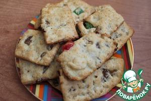 Наше замечательное, хрустящее печенье с начинкой готово! Вам оно очень понравится - гарантирую!))