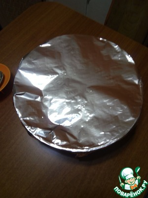 Cover the cereal with foil and send in a preheated 180 degree oven for 10 min.