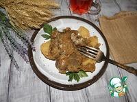 Жаркое из печени с картофелем ингредиенты