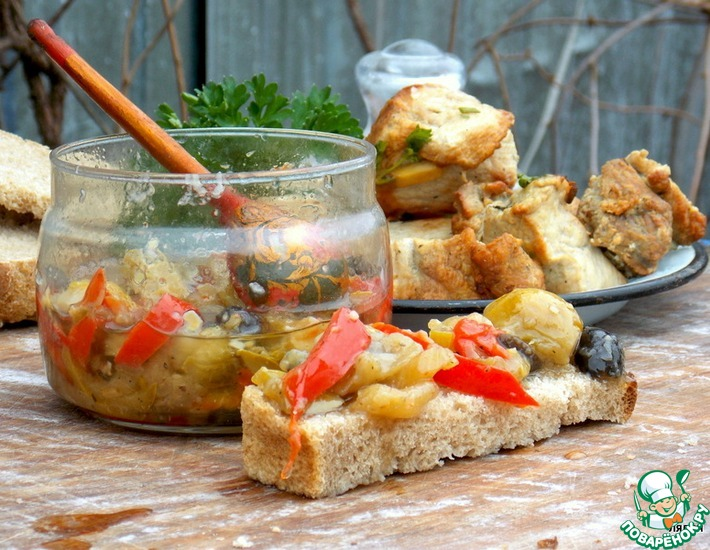 Рецепт: Маринованные овощи по-итальянски