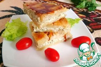 Рецепт: Капустные сандвичи с сыром и чесноком