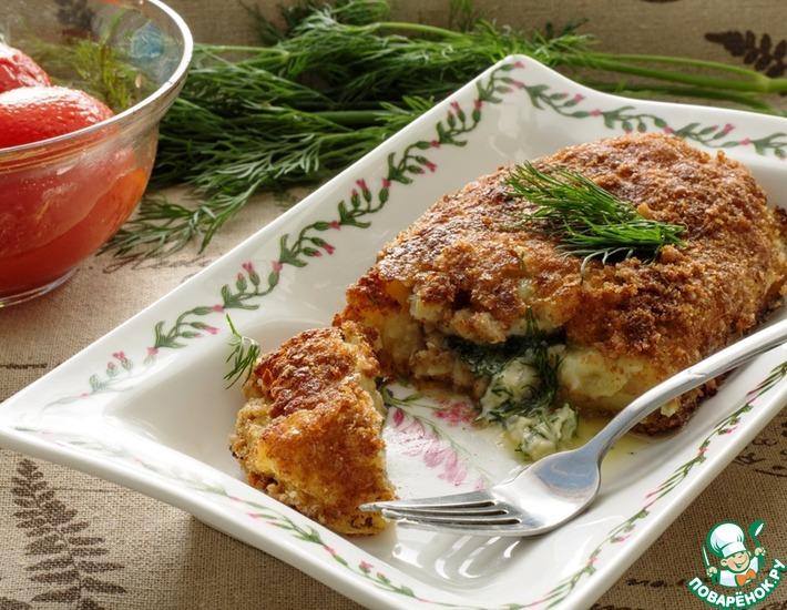 Рецепт: Картофельные зразы по-киевски
