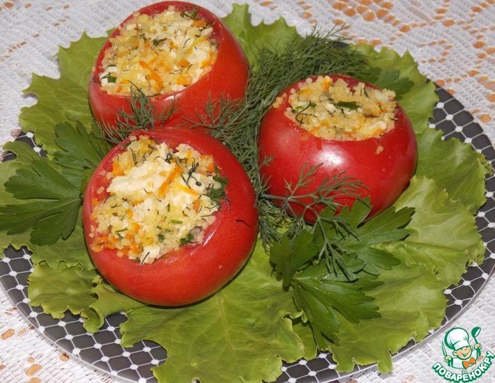 Рецепт: Фаршированные помидоры Вкуснейшие