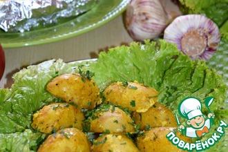 Рецепт: Картофель Золотой в мультиварке
