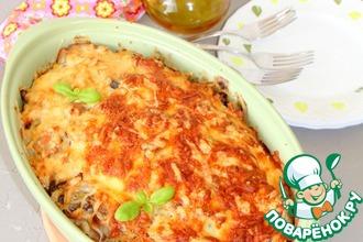Рецепт: Запеченная курица с картофелем а-ля Скоблянка