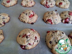 Bake in a preheated 190° oven for 15 minutes.  Ready cookies to cool slightly on the baking sheet (it will be very soft), then gently shift at dish.  To store this cookie preferably not more than 48 hours.