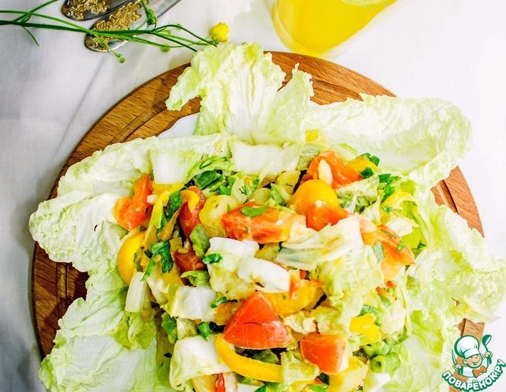 Рецепт: Овощной салат Магги и Ко