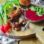 Смородиновый соус с коньяком