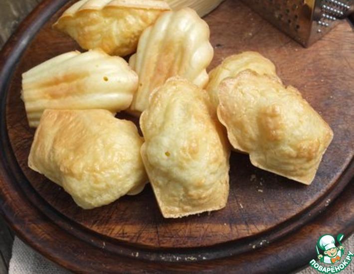 Рецепт: Воздушное сырное печенье