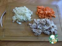 Заливной пирог с мясом и овощами ингредиенты