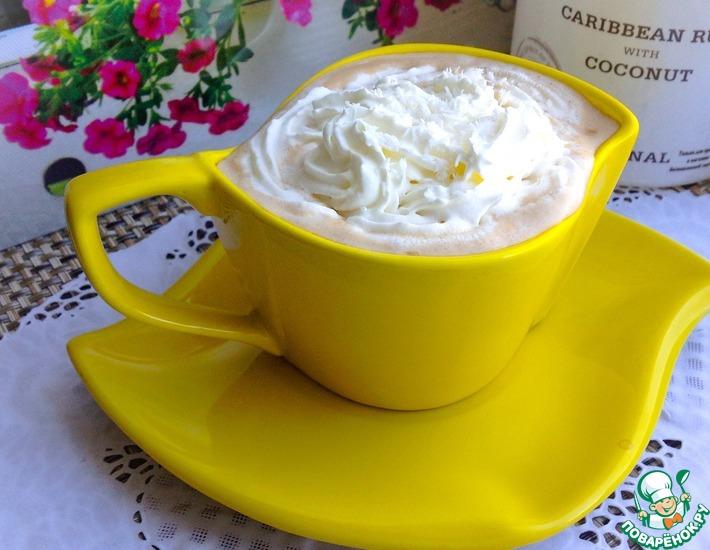 Рецепт: Кофе «Рафаэлло»