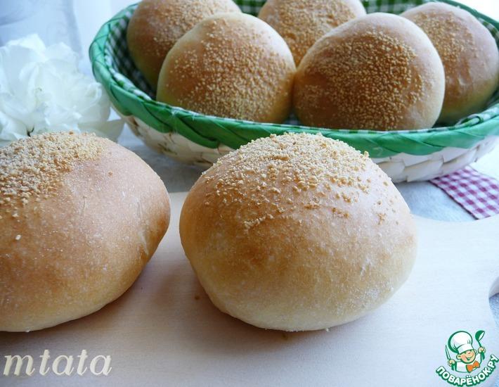 Рецепт: Филиппинский хлеб Пандесал