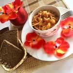 Тушёный картофель с кальмарами