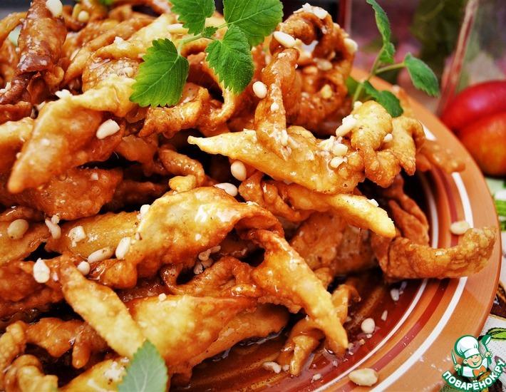 Рецепт: Хворост по-корейски Мэчжакква