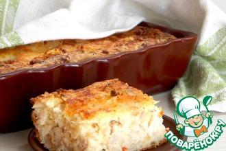 Рецепт: Быстрый куриный пирог