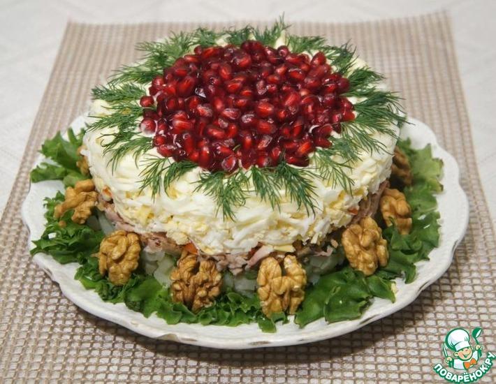 Рецепт: Салат Красная шапочка